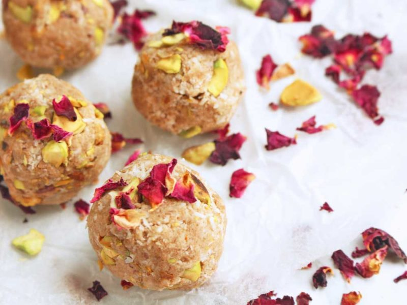 Rose & Pistachio Bliss Balls
