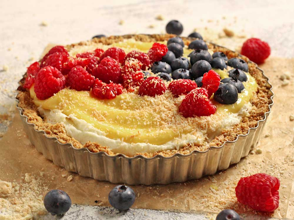 Mango-&-Berry-Cheese-Tart