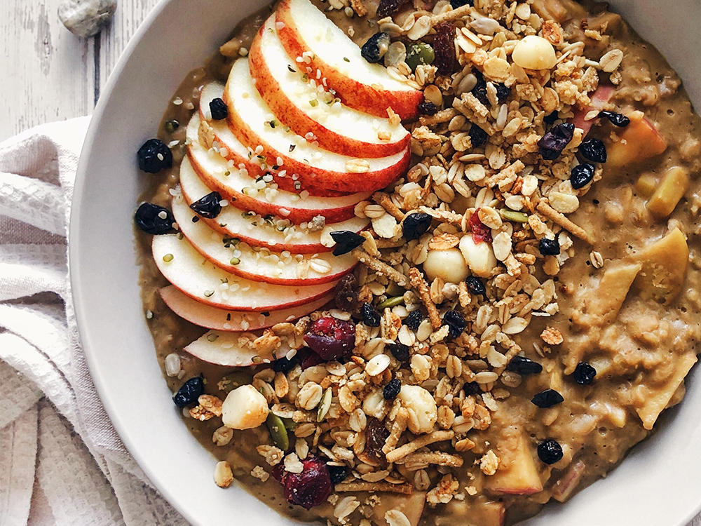 apple oats